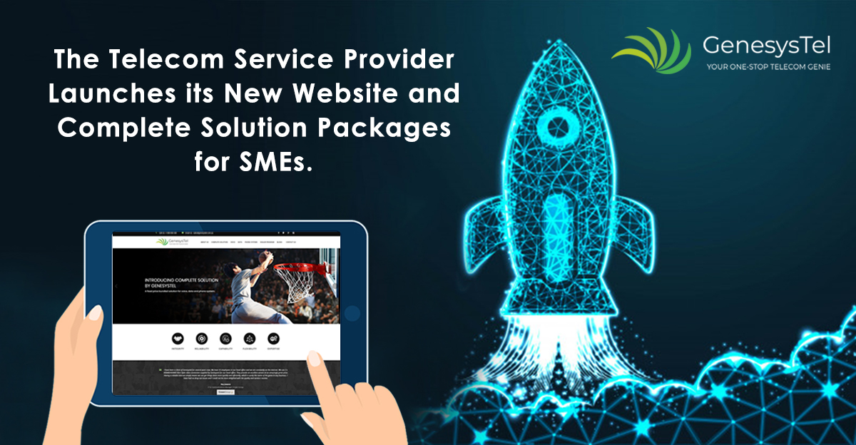 Genesystel, the Telecom Service Provider Launches a New Website and its All-New Complete Solutions Package