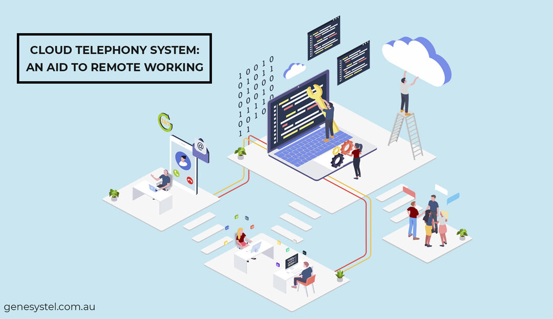 Remote Working Solutions through Cloud Telephony System