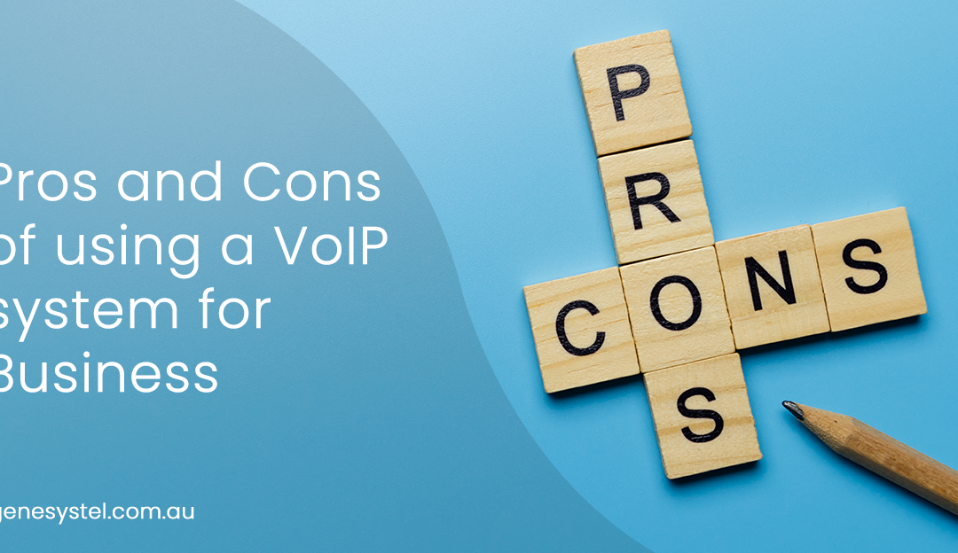 Pros and Cons of Using a VoIP System for Business