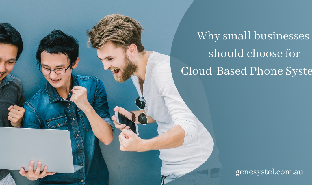 Why Small Businesses Should Prefer Cloud Based Phone systems