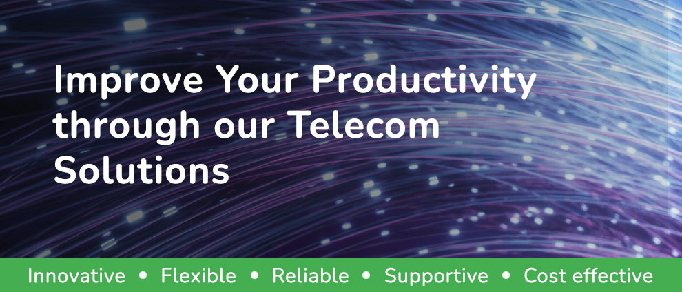 Improve Your Productivity Through Our Telecom Solutions Image