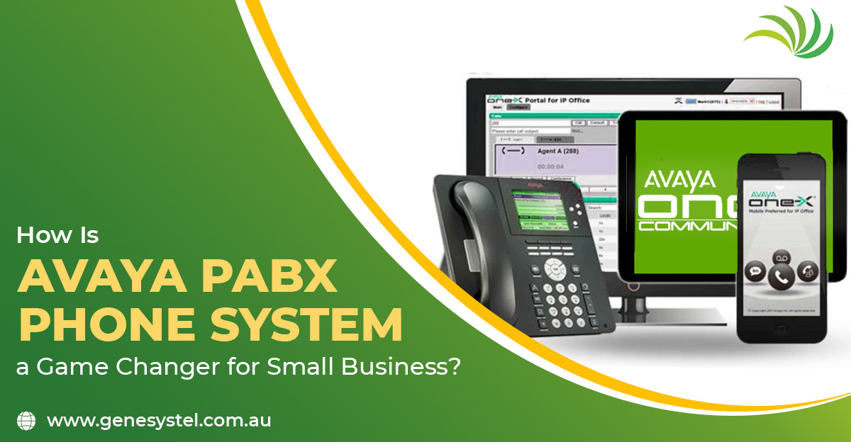 How is Avaya PABX Phone System a Game Changer for Small Business?